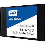"""WD Blue 3D NAND SATA 250 GB Internal SSD - 2.5"""" - WDS250G2B0A - SATA 6Gb/s"""