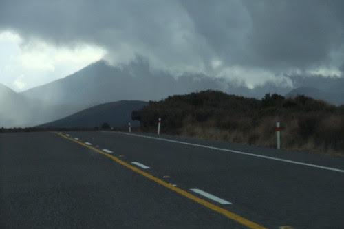 Tongariro park volcanoes