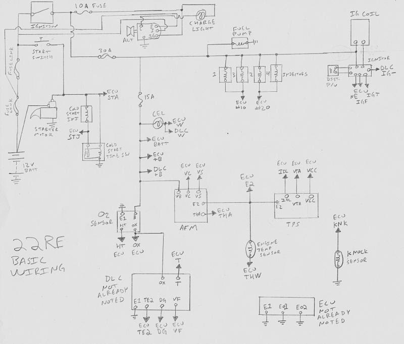 1uz Wiring Diagram