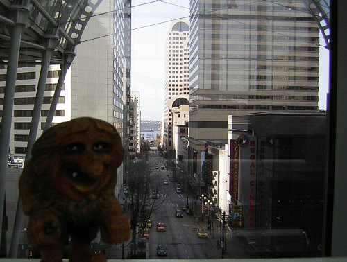 Pike Street from the Convention Center