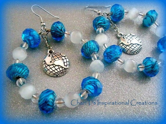 We are the World Earth Day Earrings