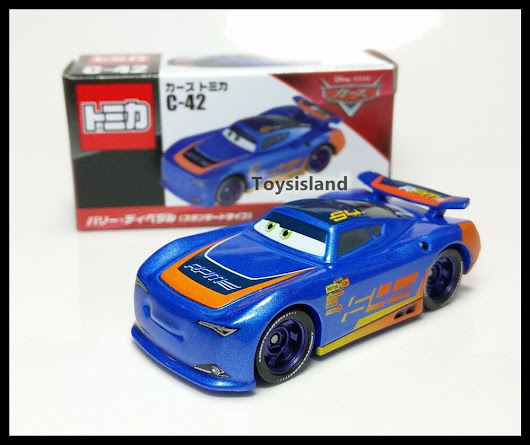Details about Tomica Disney CARS C-42 Barry DePedal Standard Type TOMY DIECAST CAR