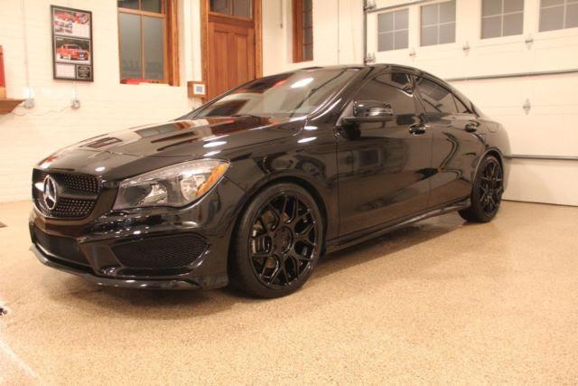 2014 Black Mercedes-Benz CLA250 Sport Package Excellent Condition