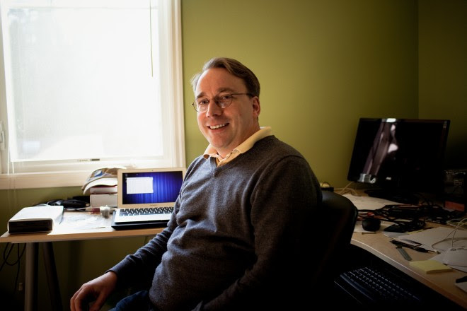 image : Linus torvalds