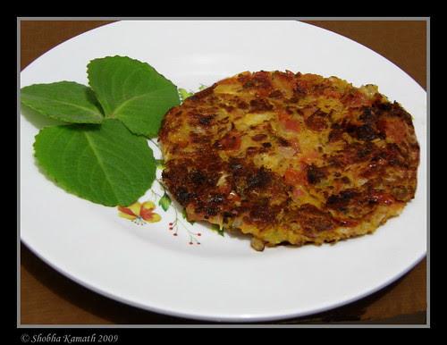 Tomato and Oregano Omelete