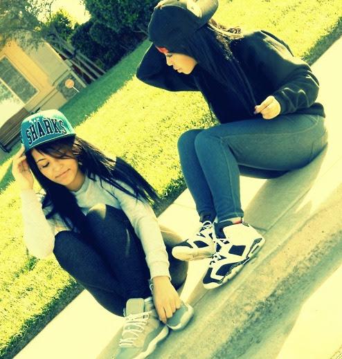 Tumblr Girls Swag Jordans
