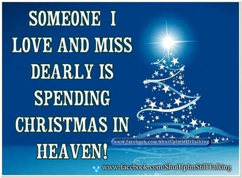 Loved Ones Heaven Christmas Quotes