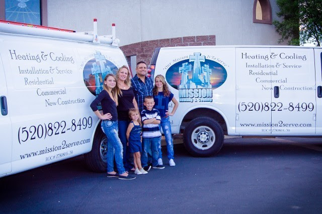 Air Conditioning And Heating Contractor Mission Heating Cooling