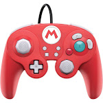 PDP Fight Pad Pro Mario USB Controller for Switch - Red