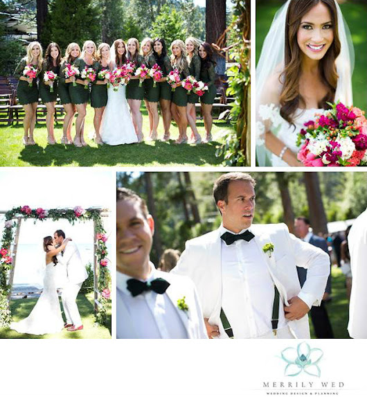 A Berry-licious Wedding at the West Shore Cafe | Merrily Wed® Lake Tahoe Weddings