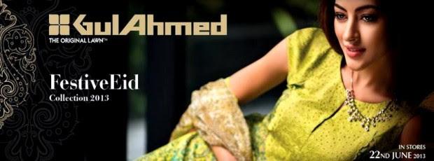 Gul-Ahmed-Eid-Dress-Collection-2013-Gul-Ahmed-Festive-Lawnn-New-Fashionable-Clothes-