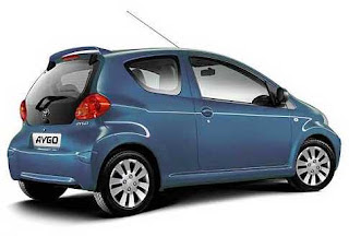 Toyota Aygo Blue