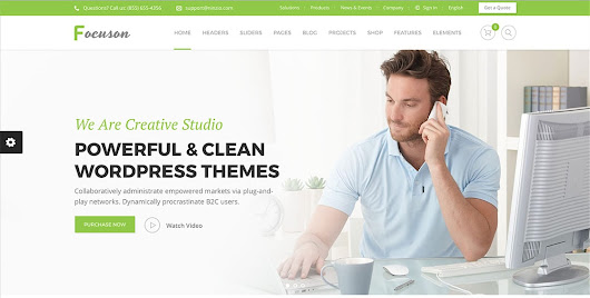 20 Best Creative WordPress Themes 2017 for Marketing Agency