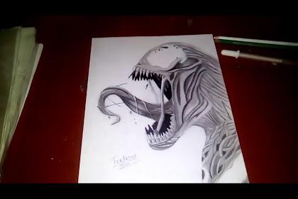 Dibujo De Venom Realista