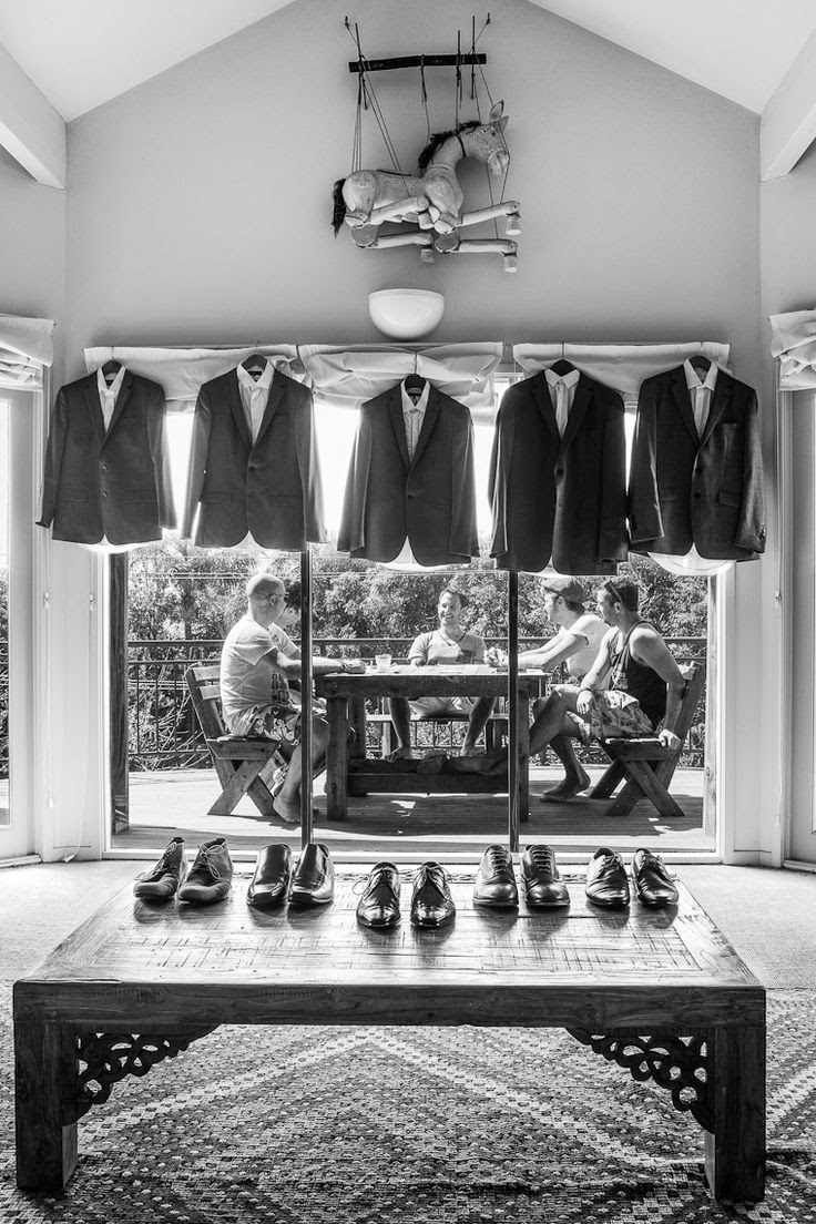 Grooms getting ready for wedding ceremony ... Groomsmen ... Wedding party and best man ... Tuxedos and shined shoes ... Photo ops photos photography pics pictures ... Rustic glamorous, country elegance, shabby chic, vintage, whimsical, boho, best day ever