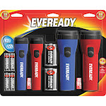 Eveready LED Flashlights - 4 pack