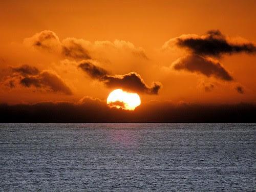 Aberdeen Sunrise Dec 2013 by Gordon M Robertson