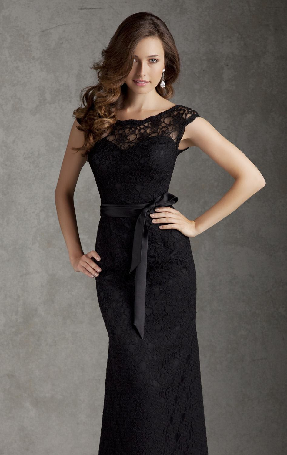 2015 sexy evening dresses summer style v neck black long