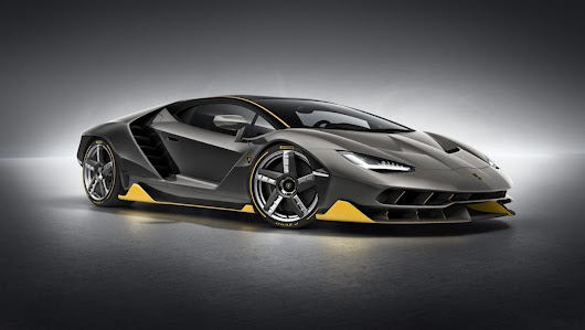 With The $1.9 Million Lamborghini Centenario, Peak Supercar Arrives