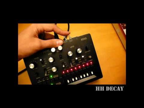 MONOBOT: MONOMOD #1 --- Controlling the drums decay