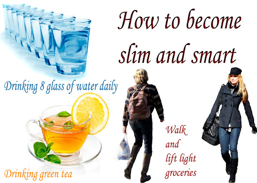 How to become slim and smart in only one week health article