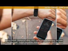 Fitness Bracelet V5S Smart Bracelet Color Screen for Sport IP67