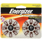 Energizer Hearing Aid Battery, Size 312 - 16 count