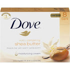 Dove Purely Pampering Beauty Bar, Shea Butter - 8 pack, 4 oz bars