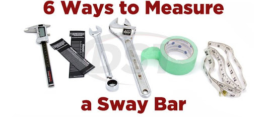 6 Different Ways to Measure a Sway Bar - AftermarketSuspensionParts.com