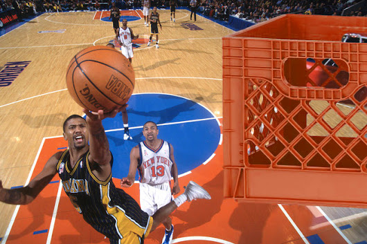 Jalen Rose Perfected the Floater on a Milkcrate Hoop | Milkcrate Digest