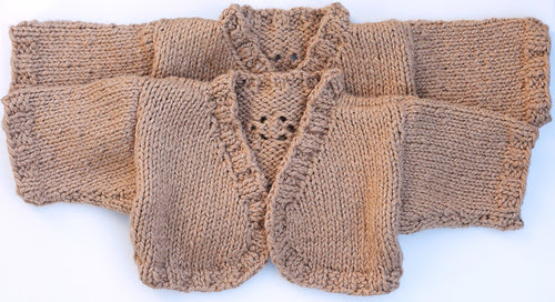 Two tiny sweaters: Twins!