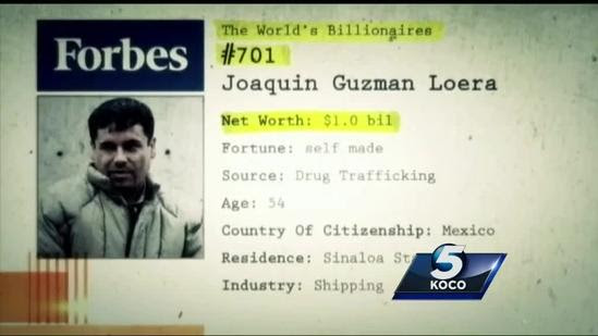 This was the Sinaloa cartel mastermind behind 'El Chapo's