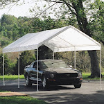 Shelter Logic MaxAP Outdoor Canopy Tent, White
