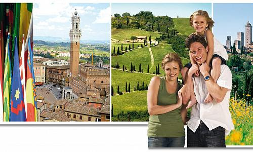 Siena with Palio's Contrada, San Gimignano and Chianti with Wine and Food Tasting