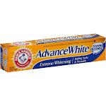 Arm & Hammer Advance White Baking Soda & Peroxide Toothpaste, Extreme Whitening - 6 oz tube