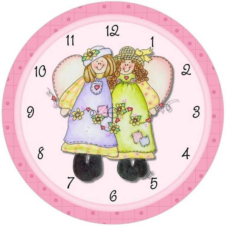 Okul öncesi Hazır Saat Kalıpları Ve Boyama Sayfaları Okul öncesi