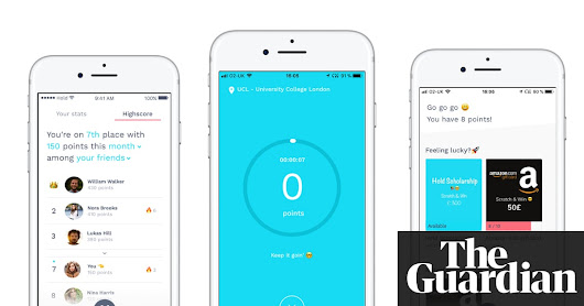 Can an app that rewards you for avoiding Facebook help beat smartphone addiction? | Technology | The Guardian