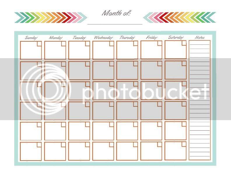 DIY Home Sweet Home: Home Management Binder - Monthly Calendar