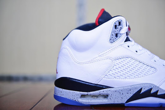 The Air Jordan 5 Borrows From Its Predecessor