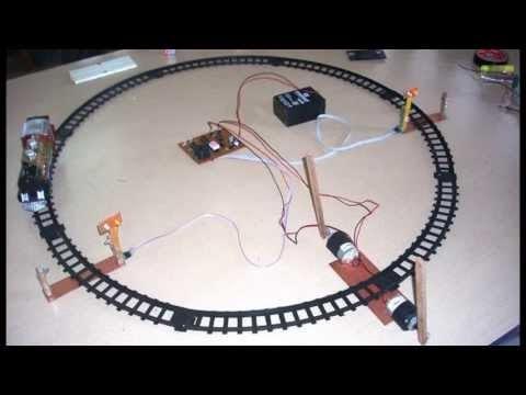 Fantasyelectronics Automatic Railway Gate Control System
