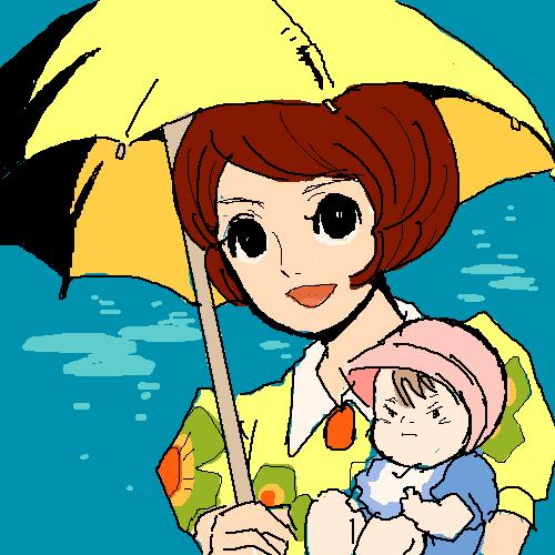 宮崎駿特集を見て Jr大浜のグータライラストブログ