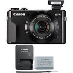 Canon PowerShot G7 X Mark II 20.1MP Digital Camera - BLACK