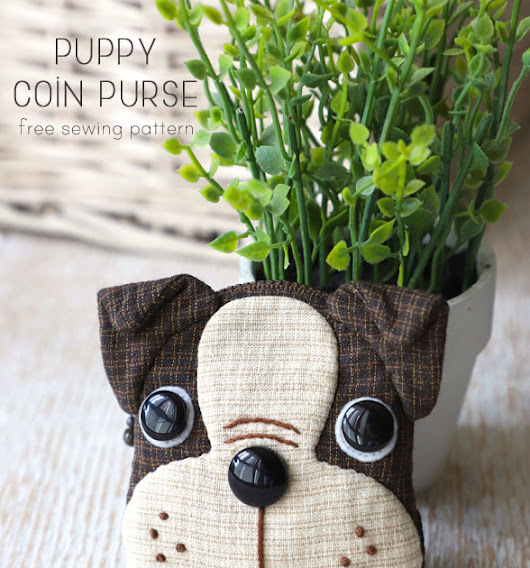 Boston Terrier Coin Purse tutorial from Craft Gossip