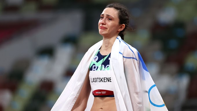 Ласицкенезаявила, что счастлива после победы на Олимпиаде