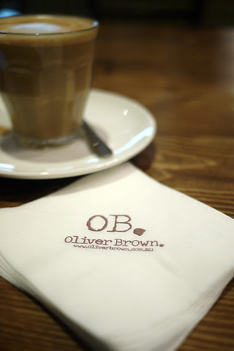 Cafe: Oliver Brown Belgian Chocolate Cafe (Chatswood, NSW)