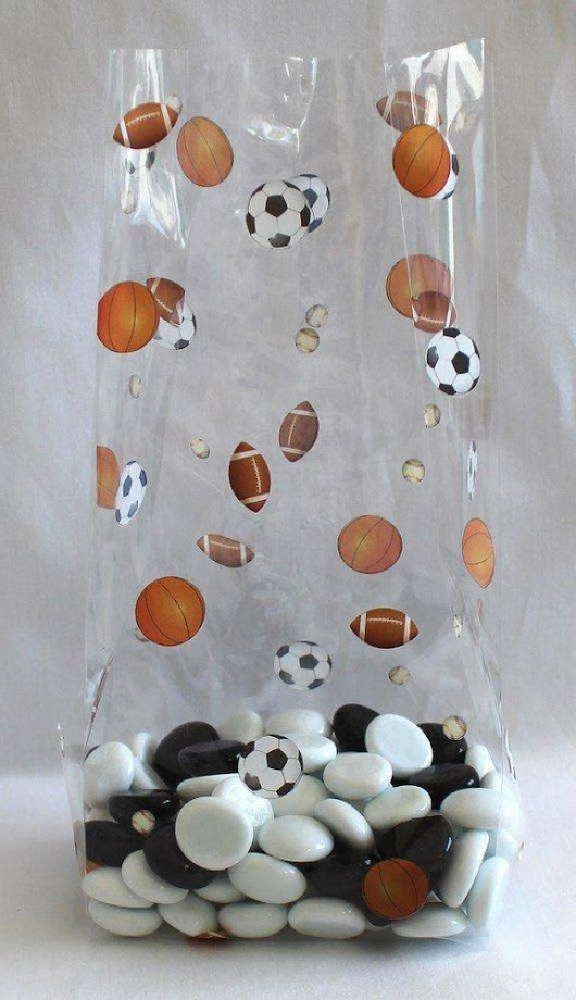 Kick Off Your Party Right With Winning Sports Print Cello Bags