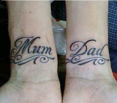 Dad Tattoo Images Designs