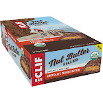 Clif Energy Bar, Nut Butter Filled, Chocolate Peanut Butter - 12 pack, 1.76 oz bars