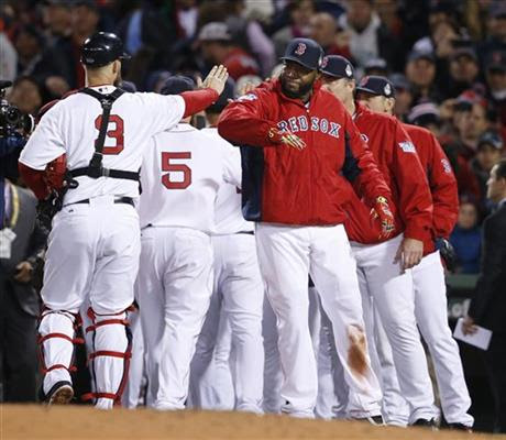 Karen Watches the 2013 World Series: Red Sox Turn Cardinals Into Feathers in Game 1 Rout