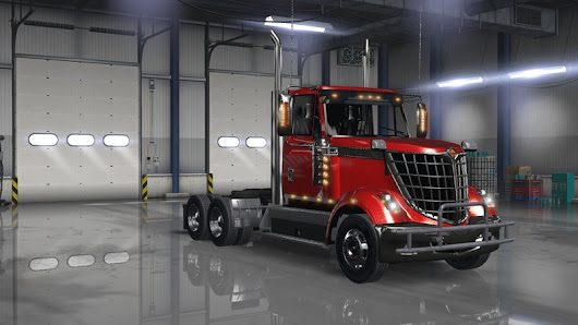 INTERNATIONAL LONESTAR DAY CAB V 2.0 | American Truck Simulator mods | ATS mods